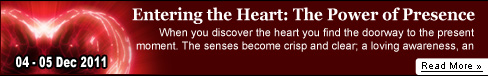 Entering the Heart: The Power of Presence