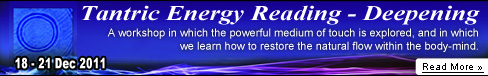 Tantric Energy Reading - Deepening