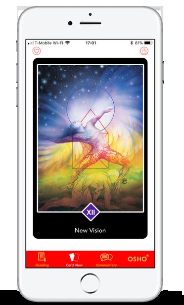 OSHO Zen Tarot Mobile App - The Transcendental Game of Zen