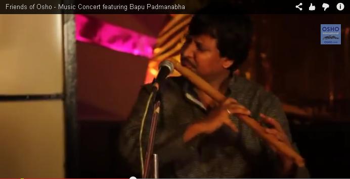 Friends of Osho - Music Concert featuring Bapu Padmanabha